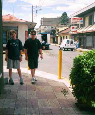 boys and street tiles