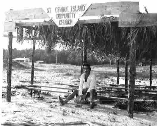 Gary in St. George Island /1976